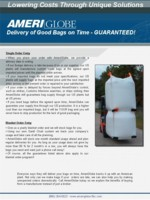 AmeriGlobe Guarantee Brochure